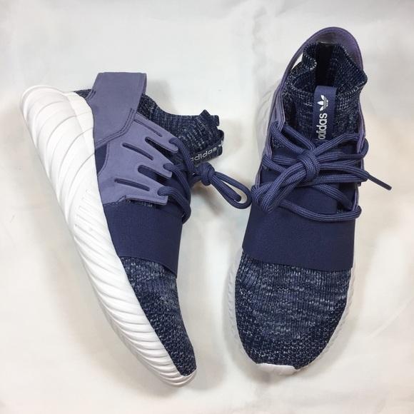 le adidas tubulare doom pk primeknit scarpe viola poshmark